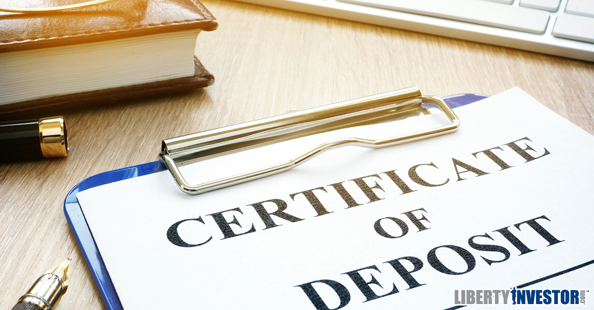 Are Certificates Of Deposit Worth It Right Now Liberty Investor